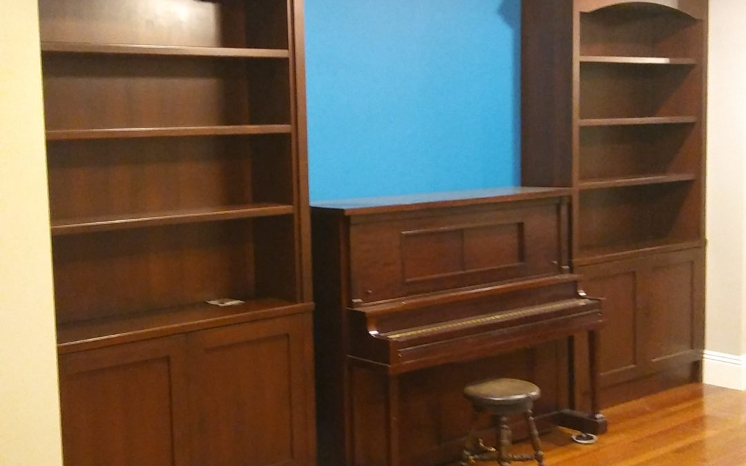 Family Rooms Need Cabinets